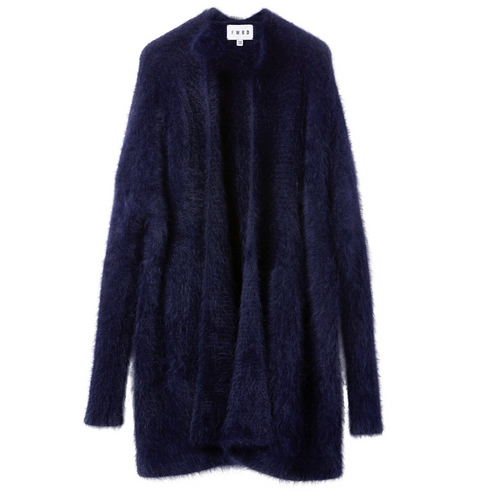 FWRD THE LABEL 'Elle' Angora Cardigan