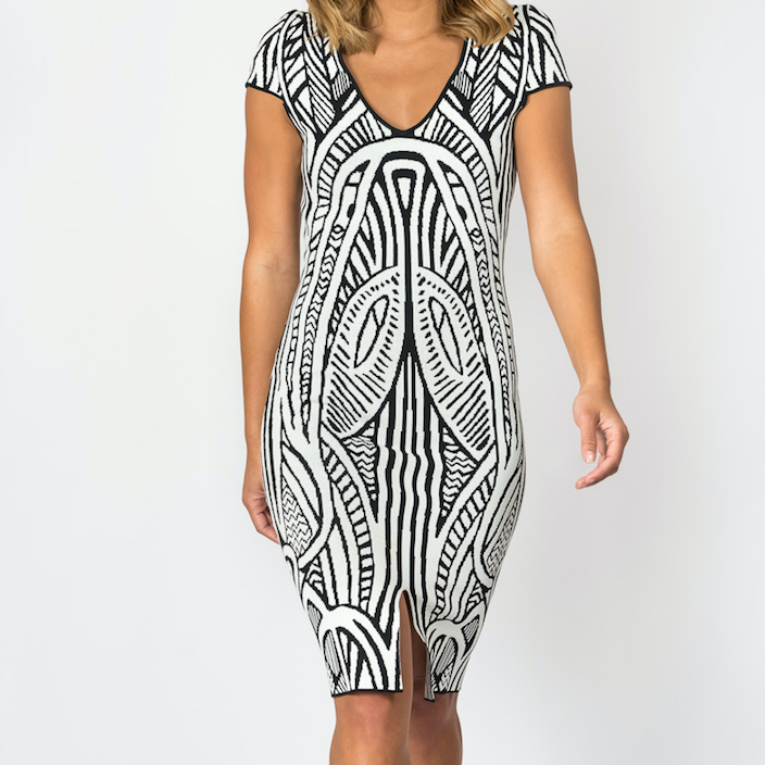 THURLEY Stretch Knit Dress