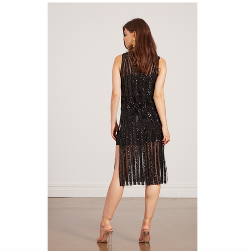STANZEE Moulin Sequin Tunic Dress