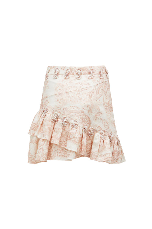 THURLEY Leto Print Mini Skirt