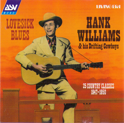 HANK WILLIAMS - Lovesick Blues - CD AJA 5371