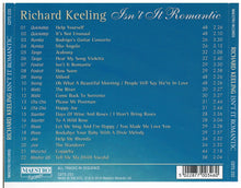 RICHARD KEELING 'Isn't It Romantic' CDTS 233
