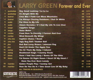 "LARRY GREEN ""Forever and Ever"" CDTS 134"