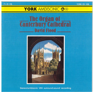 THE ORGAN of CANTERBURY CATHEDRAL - York CD 108