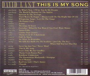 "DAVID LAST  ""This Is My Song""  CDTS 130"
