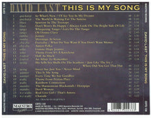 DAVID LAST 'This Is My Song' CDTS 130