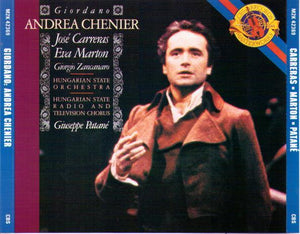 "JOSE CARRERAS ""Andrea Chenier"" 2cd-M2K 42369"