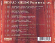 RICHARD KEELING 'From me to you' CDTS 124