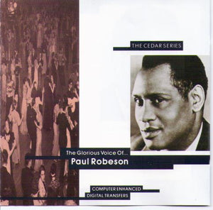 PAUL ROBESON 'The Glorious Voice Of...' CDP 7 943512