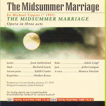 JOAN SUTHERLAND 'The Midsummer Marriage' - 2CD GL 100.524