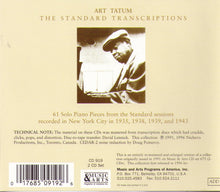ART TATUM - The Standard Transcriptions - 2-CD-MACD 919