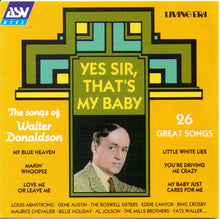 """YES SIR, THAT'S MY BABY"" Various Artists CD AJA 5206"
