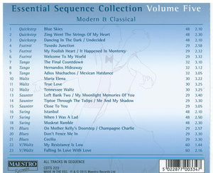 ESSENTIAL SEQUENCE COLLECTION - Vol. 5 - Modern & Classical CDTS 223