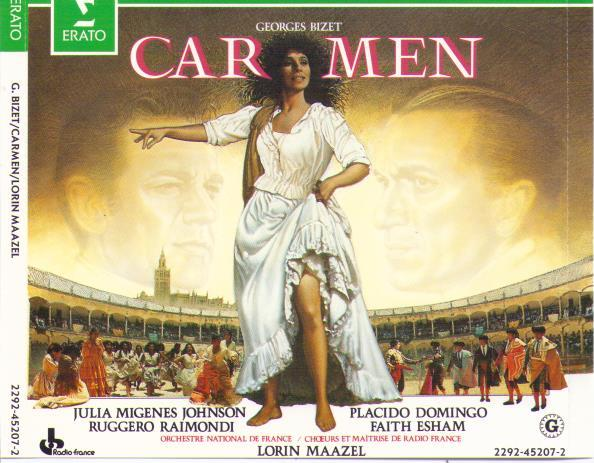 PLACIDO DOMINGO 'Carmen' 2292-45207-2 (3-cd Set)