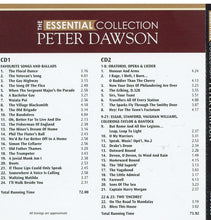 PETER DAWSON 'Essential Collection' (2-cd Set $29.95) AVC 1039