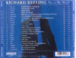 RICHARD KEELING 'You're my world' CDTS 154