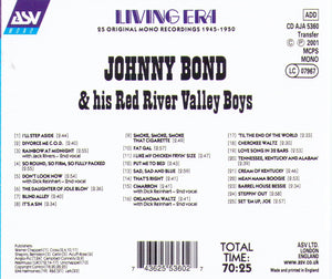 JOHNNY BOND & his Red River Valley Boys - CD AJA 5360