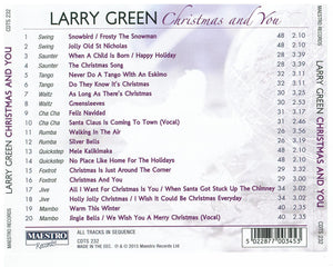 LARRY GREEN 'Christmas and You' CDTS 232