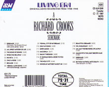 RICHARD CROOKS - Serenade - CD AJA 5240