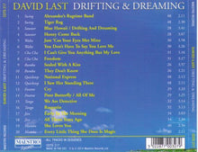 DAVID LAST 'Drifting & Dreaming' CDTS 217