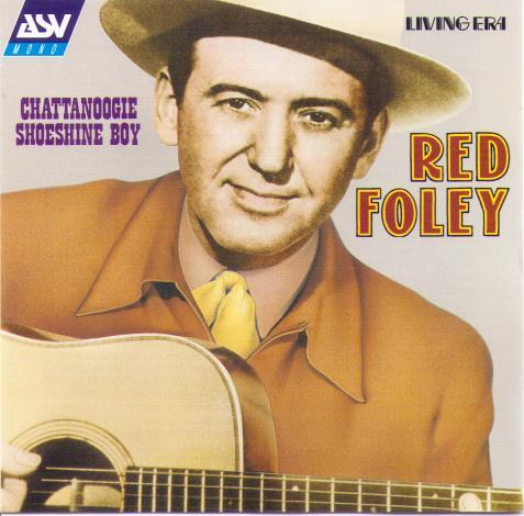 RED FOLEY 'Chattanoogie Shoeshine Boy' CD AJA 5408