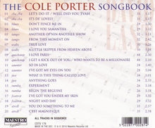 "DAVID LAST ""The Cole Porter Songbook"" CDTS 176"