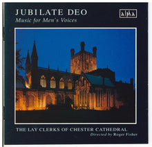 JUBILATE DEO - Music for Men's Voices - CDCA 958