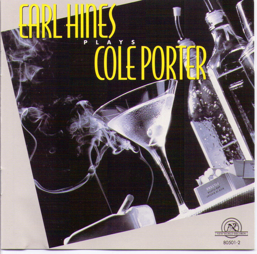 EARL HINES plays COLE PORTER - 1-CD-NW 80501