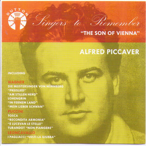 ALFRED PICCAVER -The Son of Vienna - CDBP 9725