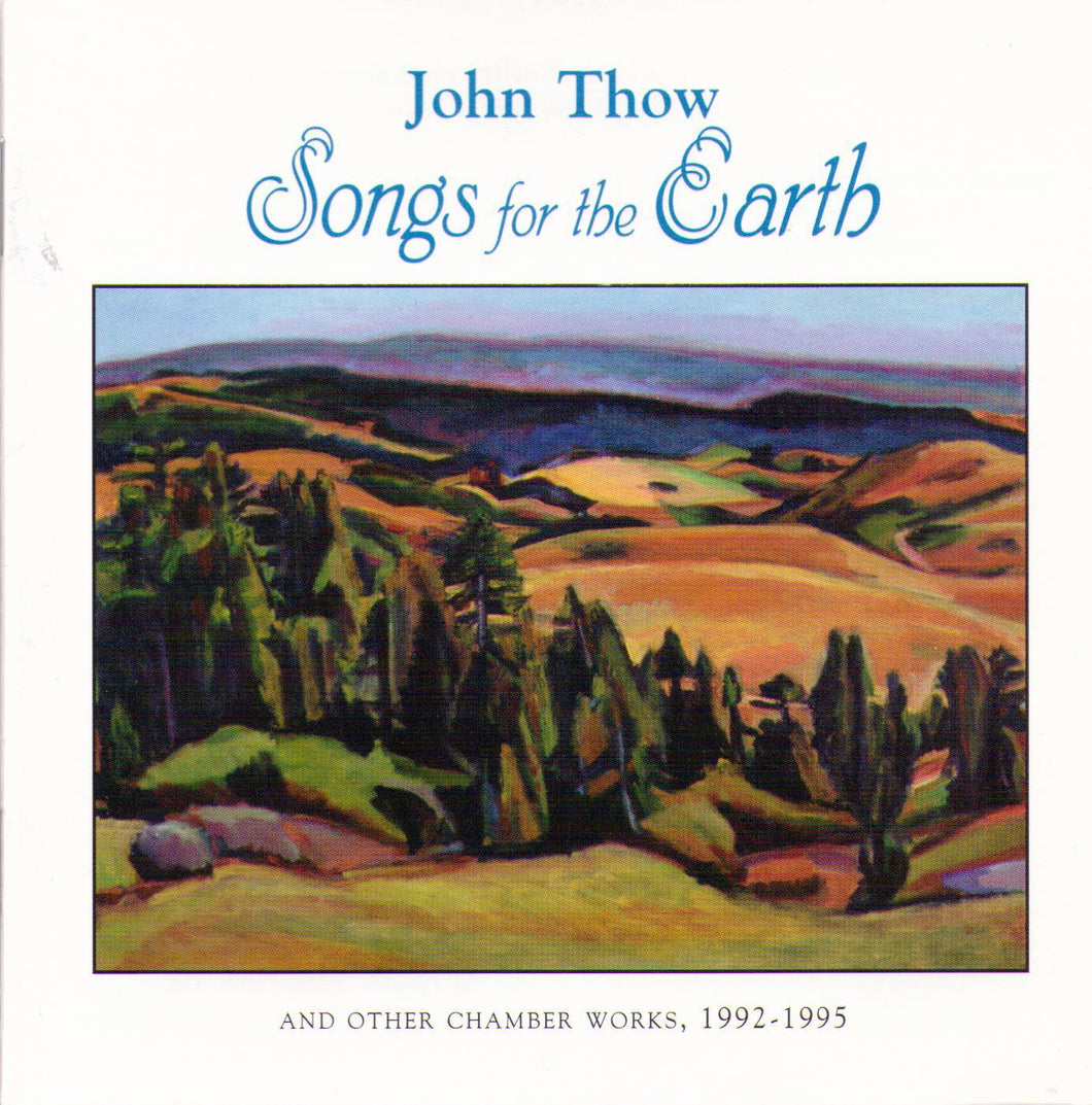 JOHN THOW - Songs for the Earth - 1-CD-915