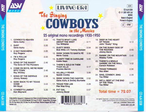 The Singing COWBOYS in the Movies - CD AJA 5338