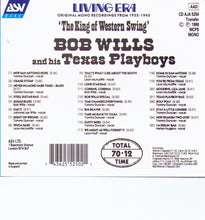Bob Wills & his Texas Playboys - CD AJA 5250