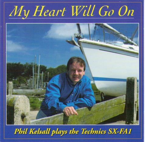 PHIL KELSALL 'My Heart Will Go On' GRCD 92
