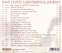 "DAVE FLOYD ""A Sentimental Journey"" CDTS 196"
