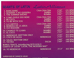 CASA MUSICA 'Latin Alliance' - DCD 025-2