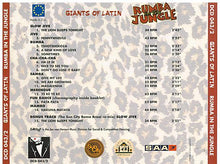 CASA MUSICA 'Rumble In The Jungle' - DCD 043-2
