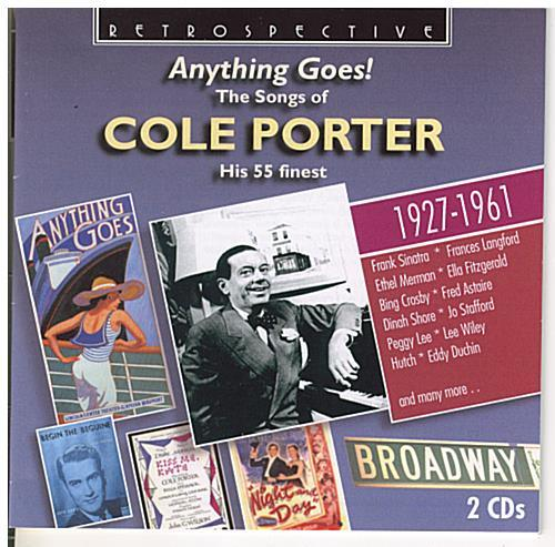 COLE PORTER 'Anything Goes!' - 2CD-RTS 4257