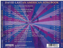 "DAVID LAST ""An American Songbook"" CDTS 201"