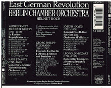 "EAST GERMAN REVOLUTION  ""Berlin Chamber Orchestra"" Pilz CD 442079-2"