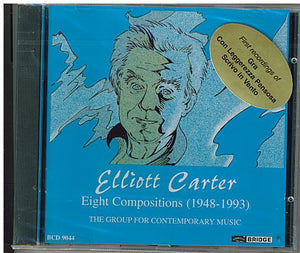 ELLIOTT CARTER - BCD 9044