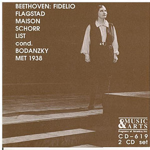 BEETHOVEN: FIDELIO - CD-619 (2CD Set)