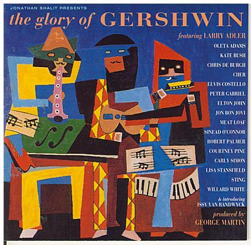 LARRY ADLER 'the glory of Gershwin' 522 727 - 2