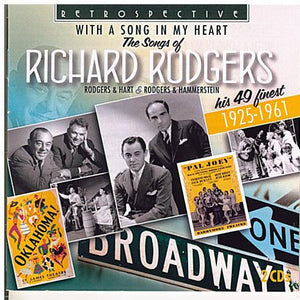 RICHARD RODGERS 'With A Song In My Heart' - 2CD-RTS 4223
