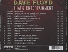 DAVE FLOYD That's Entertainment CDTS 256