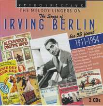 The Songs of IRVING BERLIN ' The Melody Lingers On' RTS 4287 - 2-CD Set