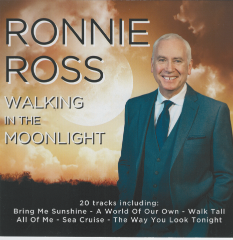 RONNIE ROSS ' Walking in the Moonlight' CDTS 258