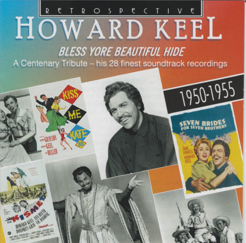 HOWARD KEEL 'Bless Yore Beautiful Hide'  RTR 4348