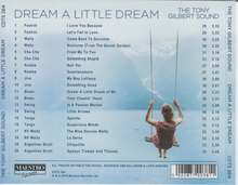 TONY GILBERT 'Dream A Little Dream' CDTS 264