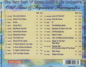 BRYAN SMITH 'Old Time & Sequence Favourites' CDTS 016
