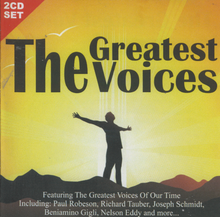 "TEHE GREATEST VOICES ""Various Artists"" PEL2CD2064 2-CD SET"